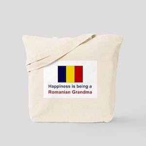 Happy Romanian Grandma Tote Bag