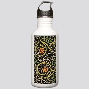 William Morris Black F Stainless Water Bottle 1.0L