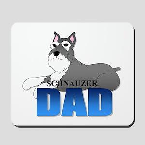 Schnauzer Dad Mousepad