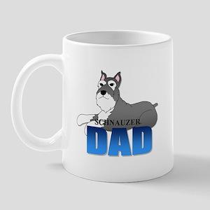 Schnauzer Dad Mug