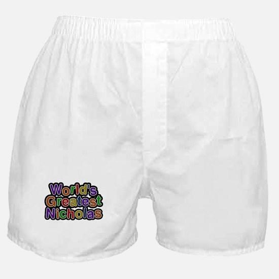 Worlds Greatest Nicholas Boxer Shorts