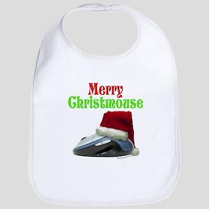 Merry Christmouse! Bib
