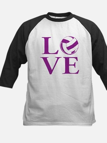 Painted love netball Baseball Jersey