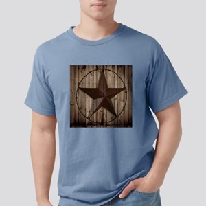 western texas star wood Mens Comfort Colors Shirt