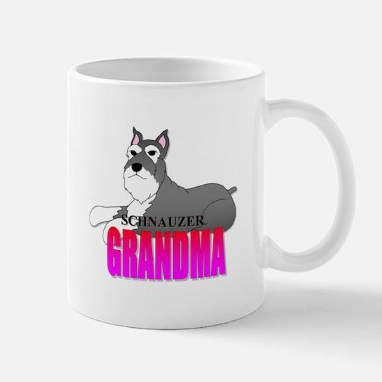 Schnauzer Grandma Mug