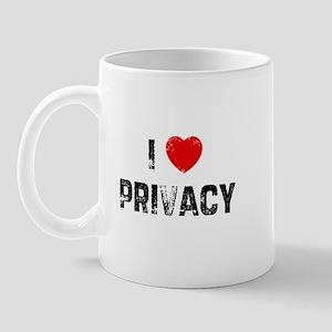 I * Privacy Mug
