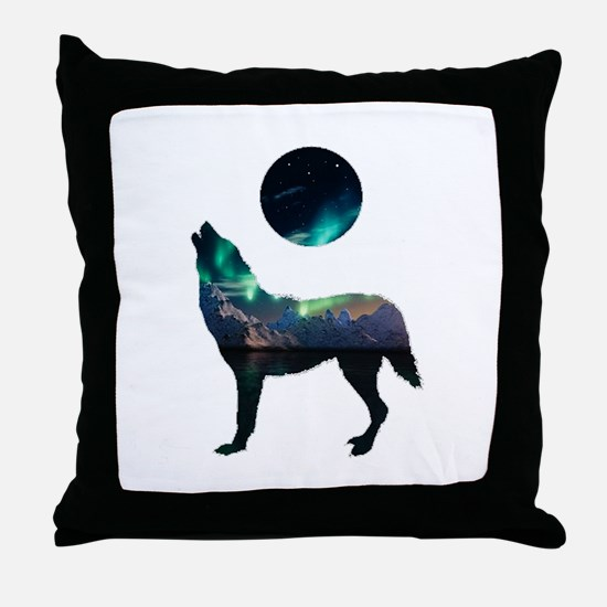 CALLING IT OUT Throw Pillow