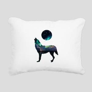 CALLING IT OUT Rectangular Canvas Pillow