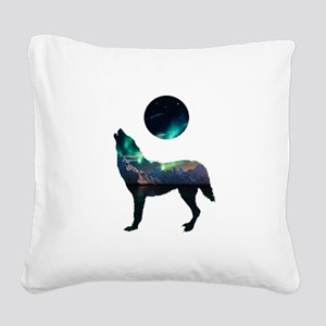 CALLING IT OUT Square Canvas Pillow