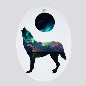 CALLING IT OUT Oval Ornament