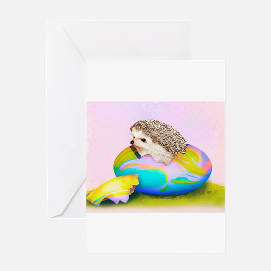 Funny Colored eggs Greeting Card