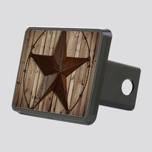western texas star wood gr Rectangular Hitch Cover