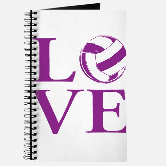 Painted love netball Journal