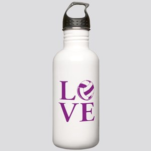 Painted love netball Stainless Water Bottle 1.0L