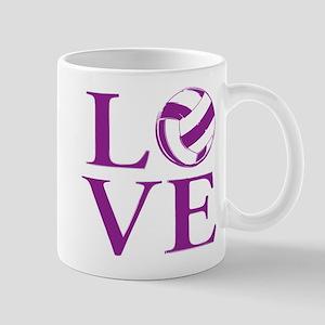 Painted love netball Mugs