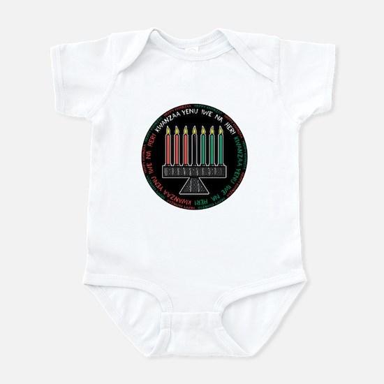 Happy Kwanzaa (Yen Iwe Na Heri) Infant Bodysuit