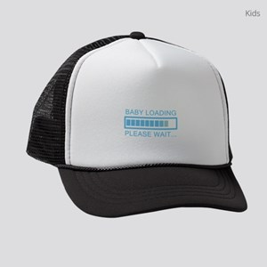 Baby Loading Please Wait Kids Trucker hat
