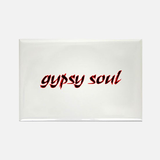 Gypsy Soul Rectangle Magnet