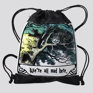 Cheshire Cat Drawstring Bag