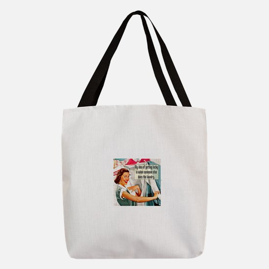 Lucky Laundry Polyester Tote Bag