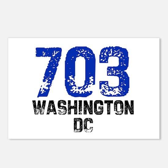 Area Code Postcards Area Code Post Card Design Template - 703 area code