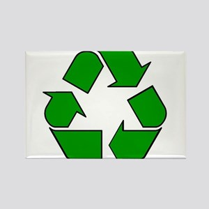 Reuse, recycle, Reduce Rectangle Magnet