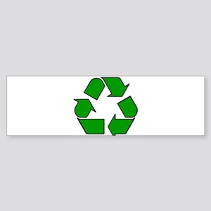 Reuse, recycle, Reduce Bumper Sticker