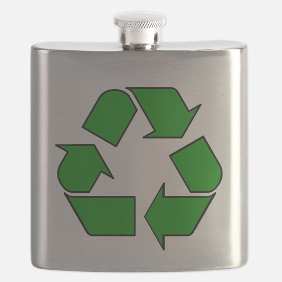 Reuse, recycle, Reduce Flask