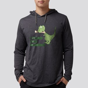 Cartoon Dinosaur Mens Hooded Shirt