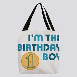 Birthday Boy 1 Year Old Polyester Tote Bag
