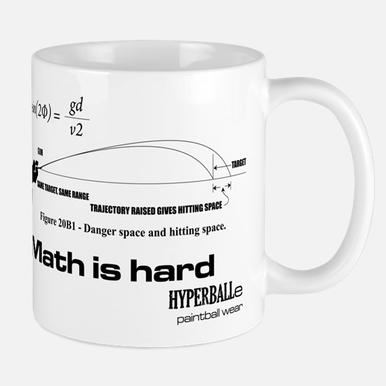 Math Is Hard Small Mugs