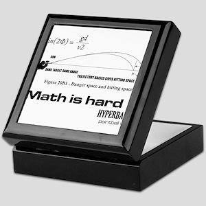 Math Is Hard Keepsake Box