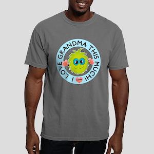 Love Grandma This Much Mens Comfort Colors Shirt