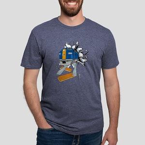 Train Breakthrough Mens Tri-blend T-Shirt