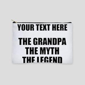 Custom Grandpa Myth Legend Makeup Pouch