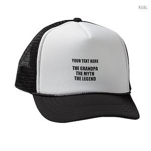 46341bd8a0c Man Kids Trucker Hats - CafePress