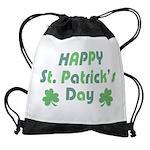 St. Patrick's Day Drawstring Bag