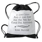 Irish Proverb Drawstring Bag
