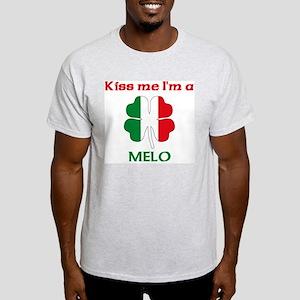 Melo Family Ash Grey T-Shirt