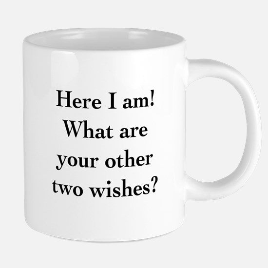 Here I Am 20 oz Ceramic Mega Mug