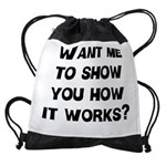FIN-how it works.png Drawstring Bag
