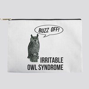 Irritable Owl Syndrome Makeup Pouch