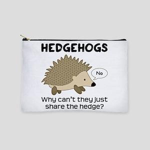 Hedgehog Pun Makeup Pouch