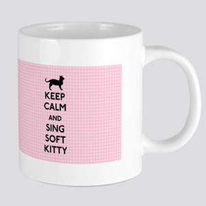 Keep Calm and Sing Soft Kitty 20 oz Ceramic Mega M