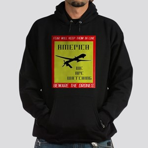 Fear The Drones Hoodie (dark)