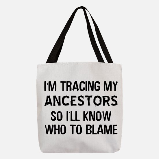 Funny Genealogy Polyester Tote Bag