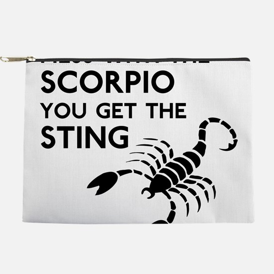 Scorpio Stings Makeup Pouch