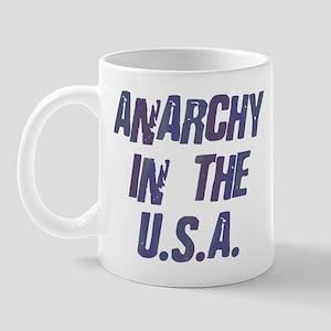 Anarchy in the USA Mug