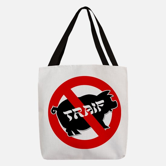 FIN-traif-pig.png Polyester Tote Bag