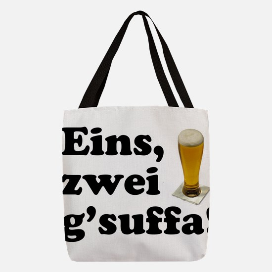 Drink Up Oktoberfes... Polyester Tote Bag